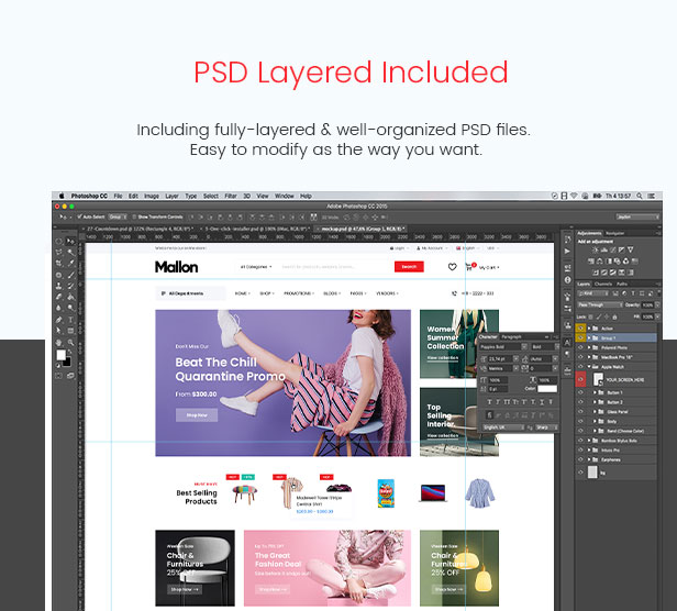Mallon - Multipurpose Elementor WooCommerce WordPress Theme - PSD