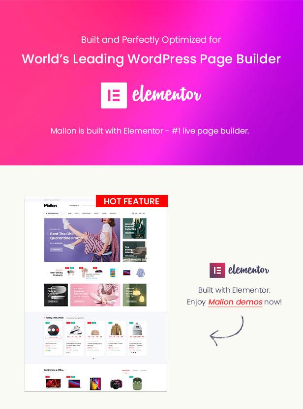 Mallon - Multipurpose Elementor WooCommerce WordPress Theme - Elementor Ready