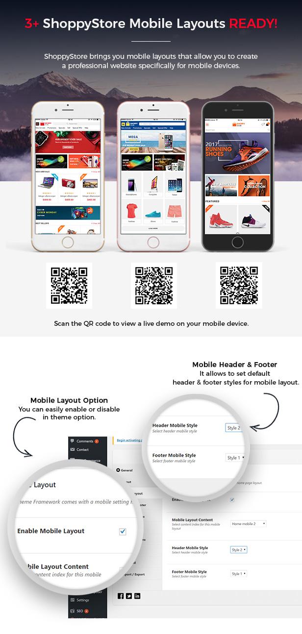 ShoppyStore - Multipurpose Responsive WooCommerce WordPress Theme (15+ Homepages & 3 Mobile Layouts) - 5