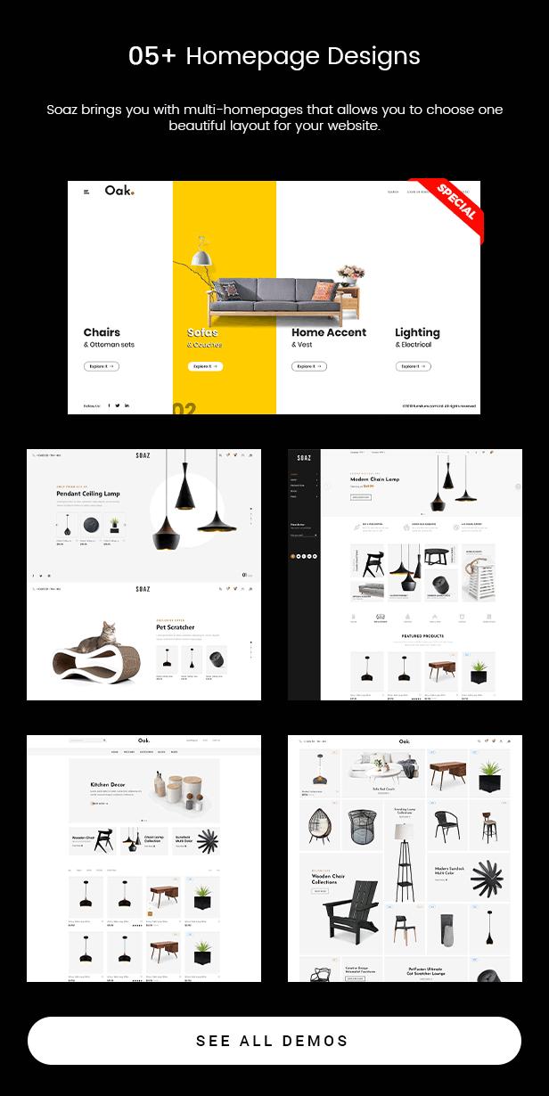 Soaz - Furniture Store & Interior Design WordPress Theme