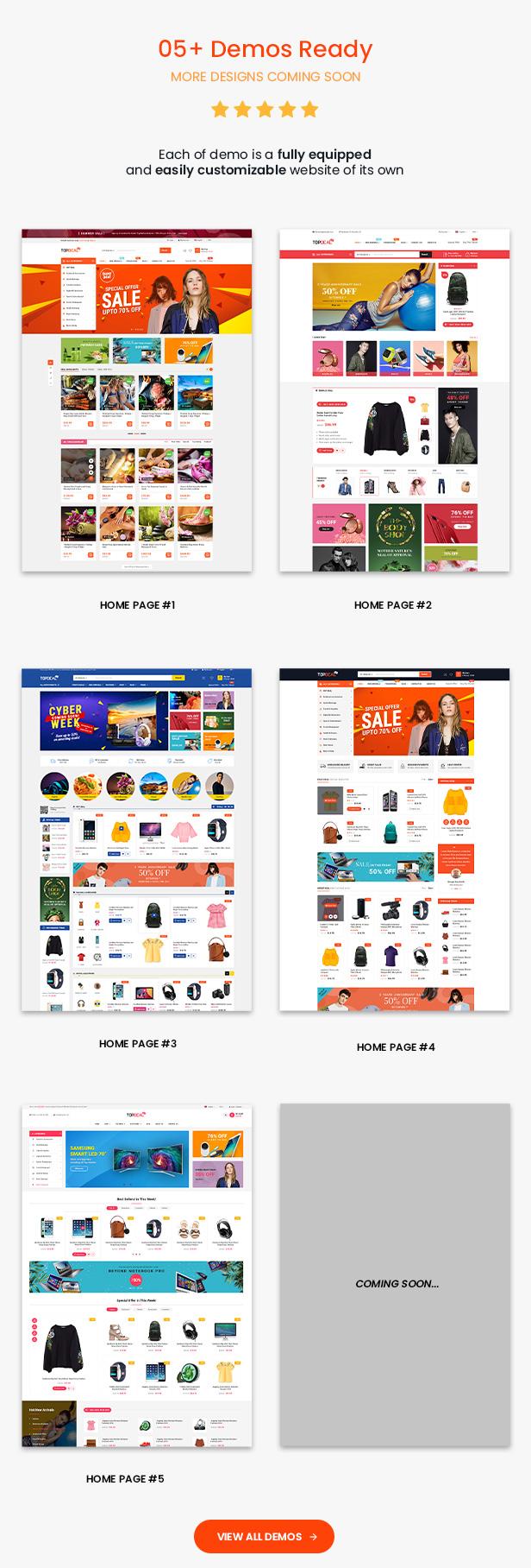TopDeal - Top Trending Multi Vendor Marketplace WordPress Theme