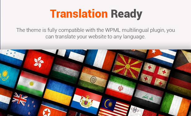 Translation Ready- WooCommerce Theme