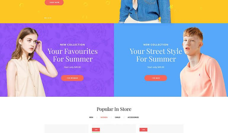 iLove - Creative Fashion Shop WordPress WooCommerce Theme