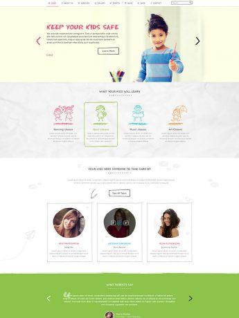 Kidshouse-WordPress Theme
