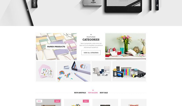 Stationery  - Responsive WooCommerce WordPress Theme