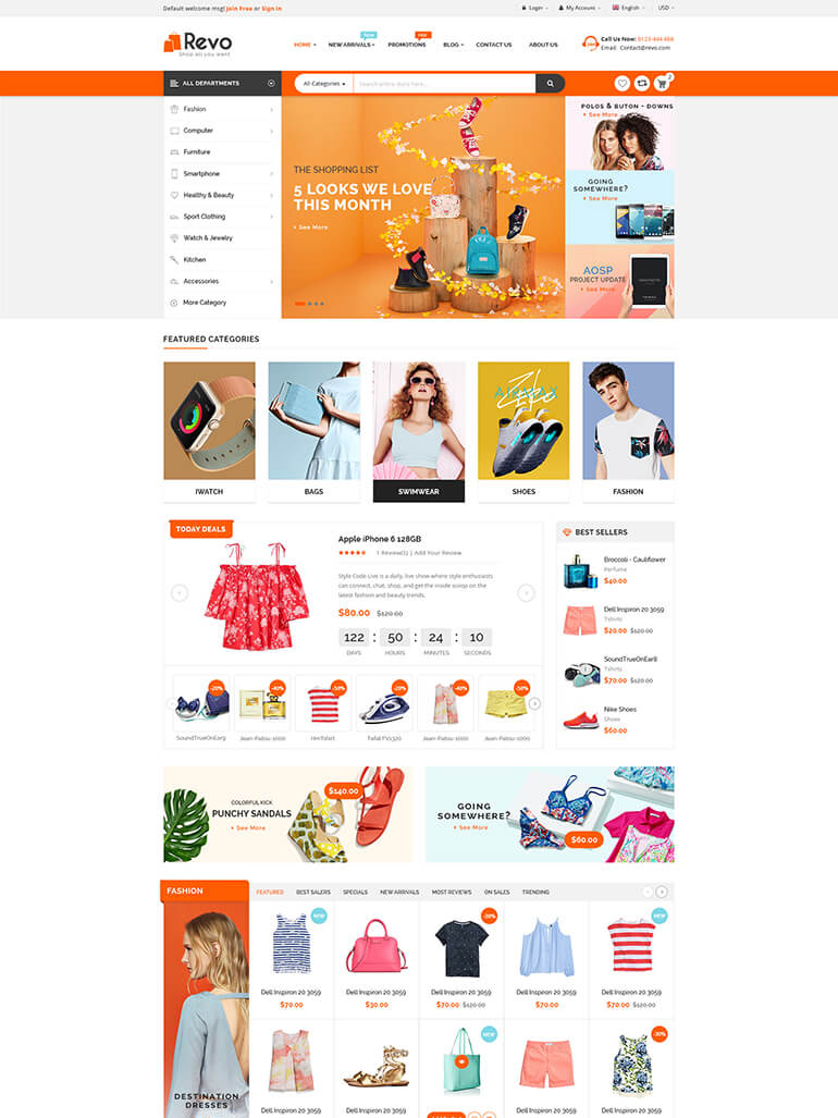 Revo - Multipurpose WooCommerce WordPress Theme Mobile Layout Ready