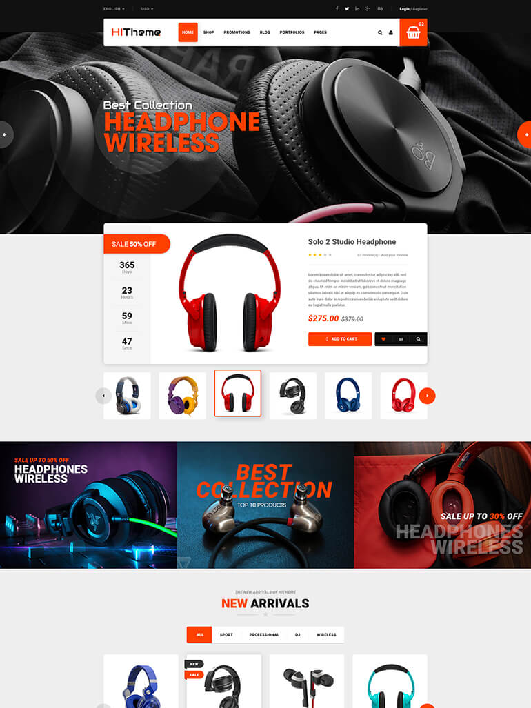 hitheme wordpress theme