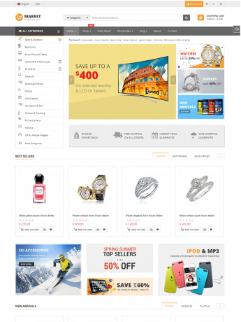 Market-WordPress Theme