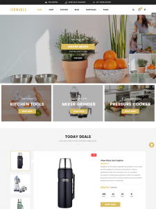 Zenwares - Kitchen Interior & Appliances WooCommerce WordPress Theme