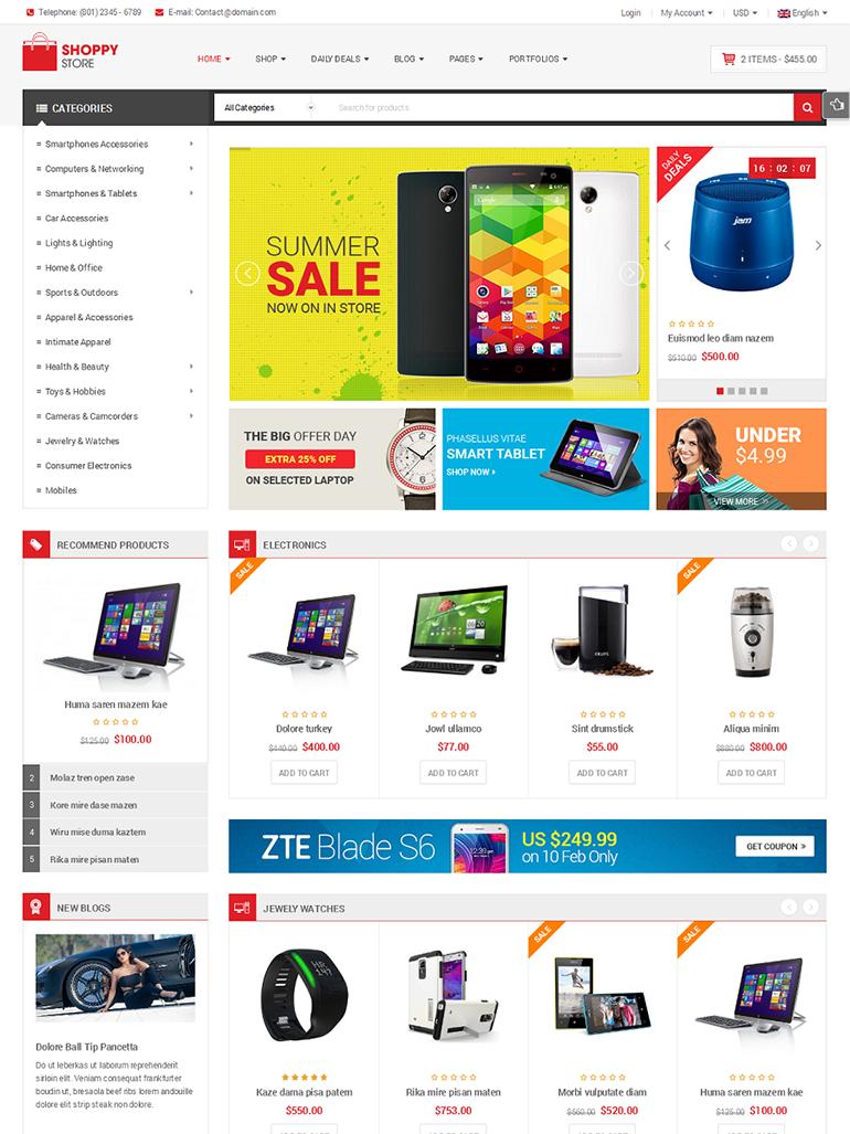 ShoppyStore- Best Selling WooCommerce Theme
