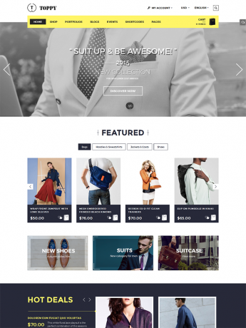 Toppy-WordPress Theme