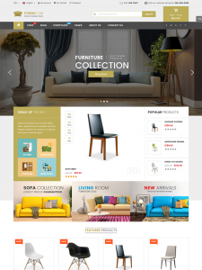 furnicom furniture shop interior design wordpress theme