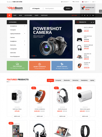 ClickBoom-WordPress Theme