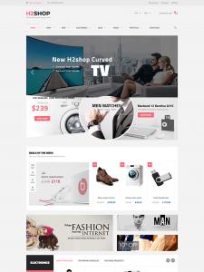 H2Shop - Responsive WooCommerce Shop WordPress Theme