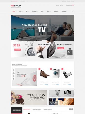 H2Shop-WordPress Theme