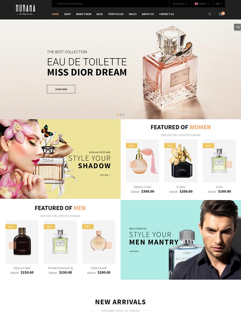 Hurama - Multipurpose WooCommerce WordPress Theme