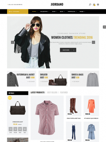 Jiordano-WordPress Theme