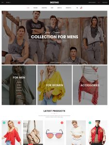 Digital Store/ Fashion Shop WooCommerce WordPress Theme - Destino