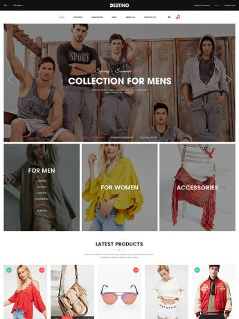 Destino-WordPress Theme