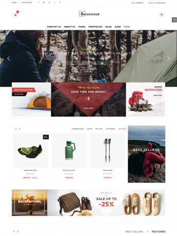 Backpacker-WordPress Theme