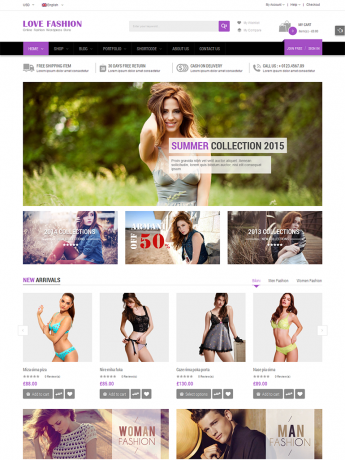 Love Fashion-WordPress Theme