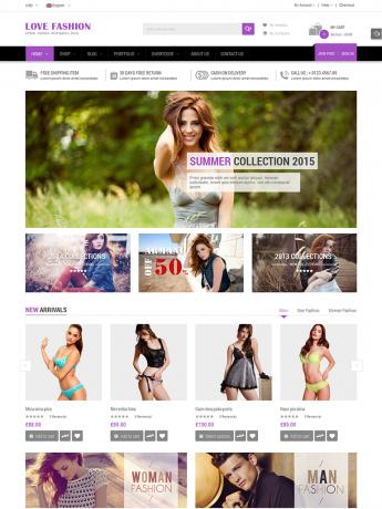 Love Fashion-WordPress Theme