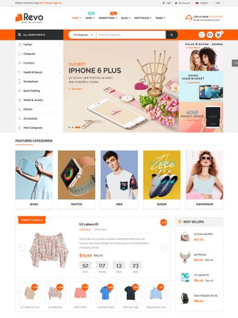 Revo-WordPress Theme