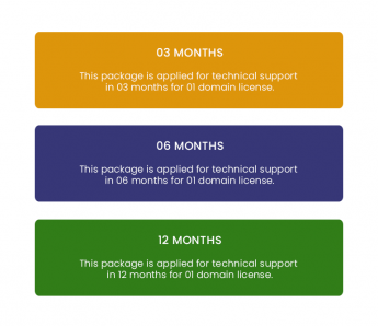 Extended Support-WordPress Theme