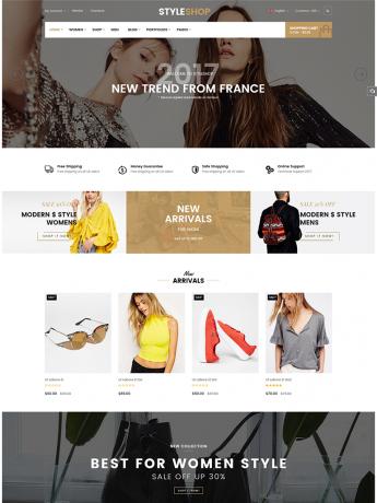 StyleShop-WordPress Theme