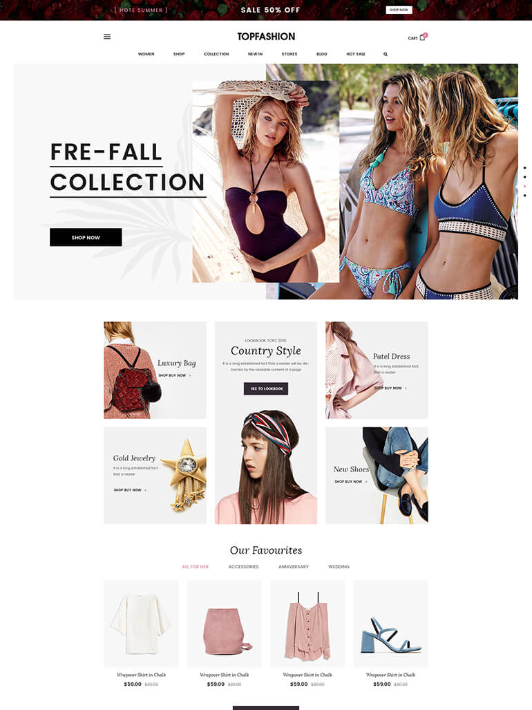 TopZ - Top Food Store & Sport Fashion Shop WordPress WooCommerce Theme
