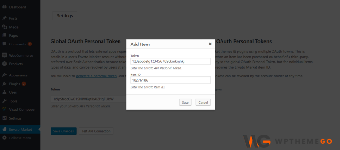 Single Use OAuth Personal Tokens insert