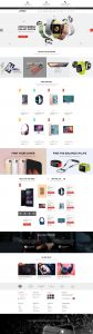 SW Pisco - WooCommerce Theme - Home Page 1