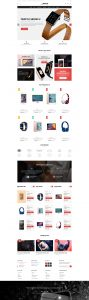 W Pisco - WooCommerce Theme - Home Page 2