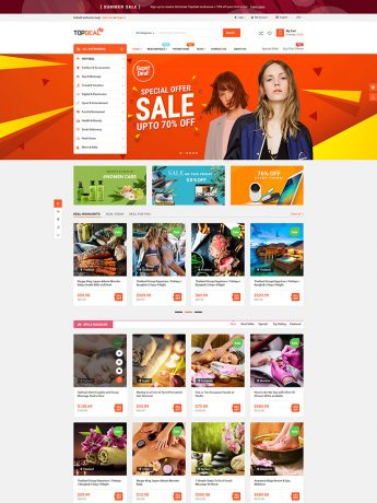 TopDeal-WordPress Theme
