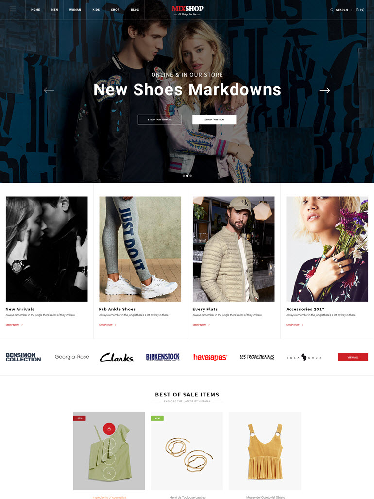MixShop - Responsive WooCommerce WordPress Theme