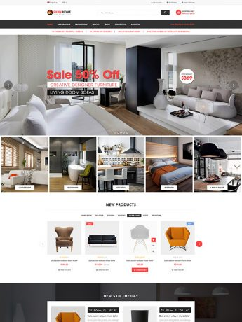 FurniHome-WordPress Theme