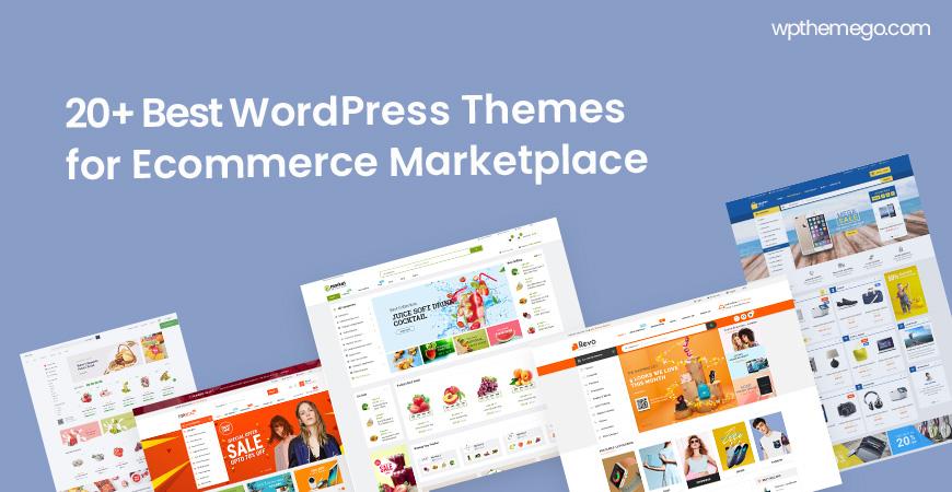 Top 20+ Best eCommerce MarketPlace WordPress Themes 2020