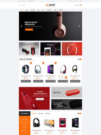 AliShop-WordPress Theme