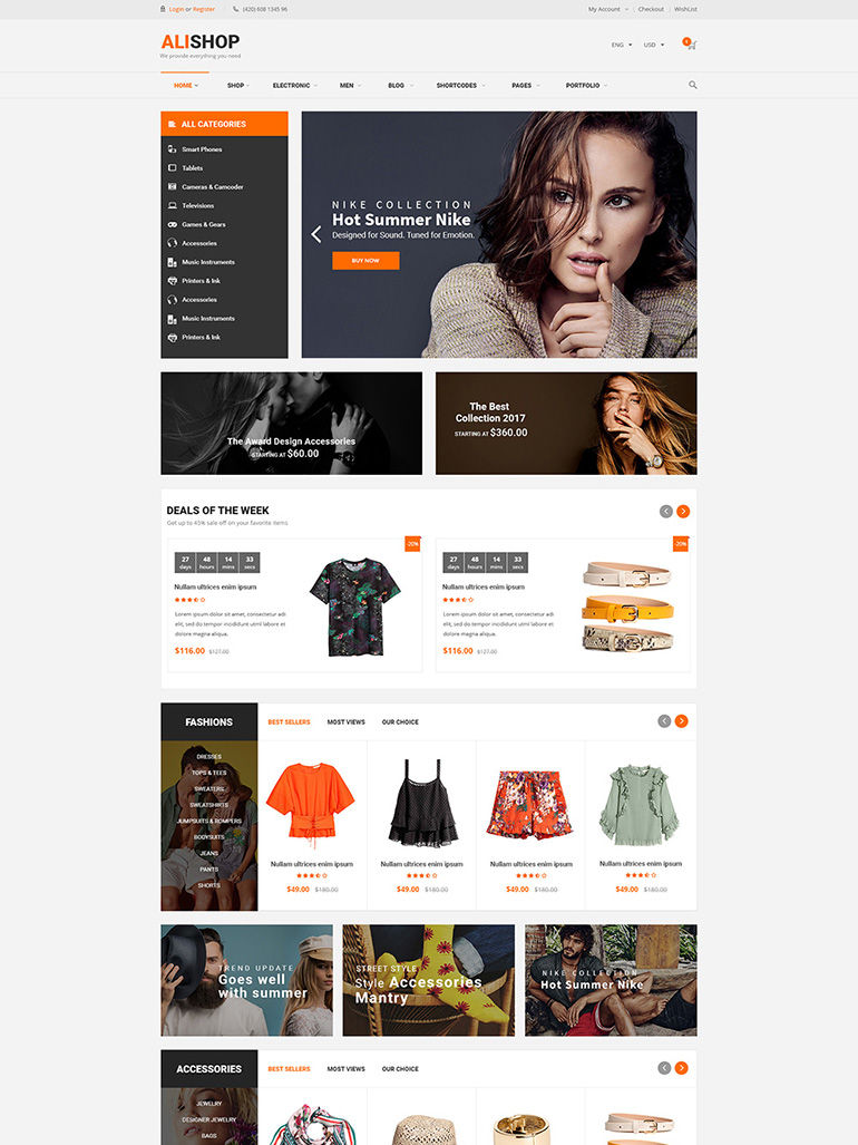 AliShop - Multipurpose WooCommerce WordPress Theme