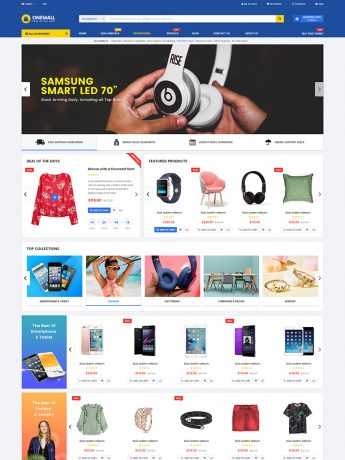 OneMall-WordPress Theme