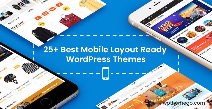 best mobile layout ready wordpress themes