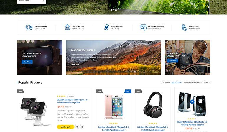 Victo - Digital MarketPlace WooCommerce WordPress Theme