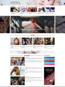 ONews - Newspaper News Magazine Theme WordPress