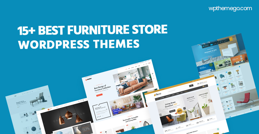 Best Free & Premium Furniture Store WooCommerce WordPress Themes