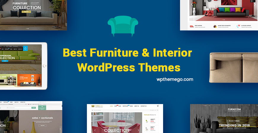 best selling furniture store wordpress themes