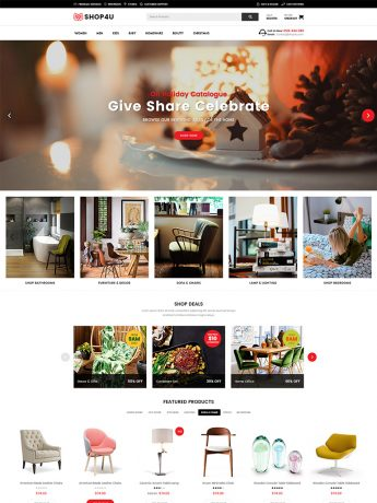 Shop4U-WordPress Theme