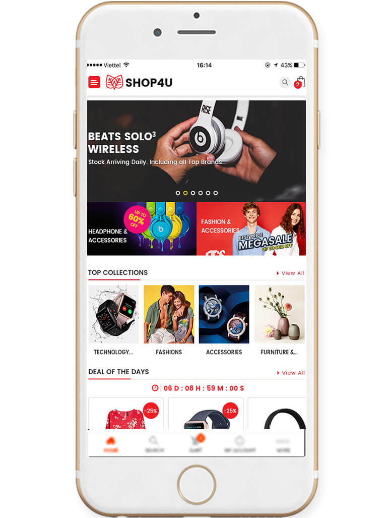 shop4u-wordpress-theme-mobile