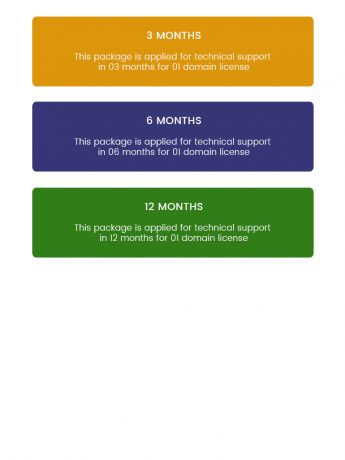 Support Subscriptions-WordPress Theme