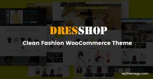 dresshop fashion woocommerce theme