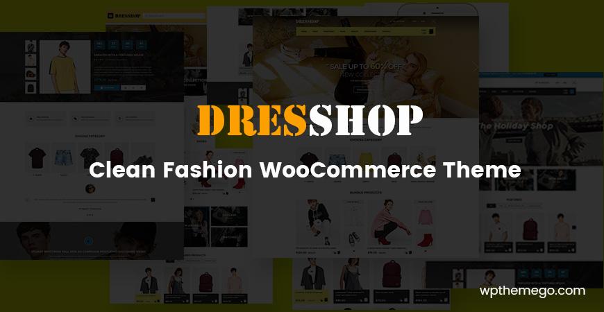 dresshop fashion woocommerce theme